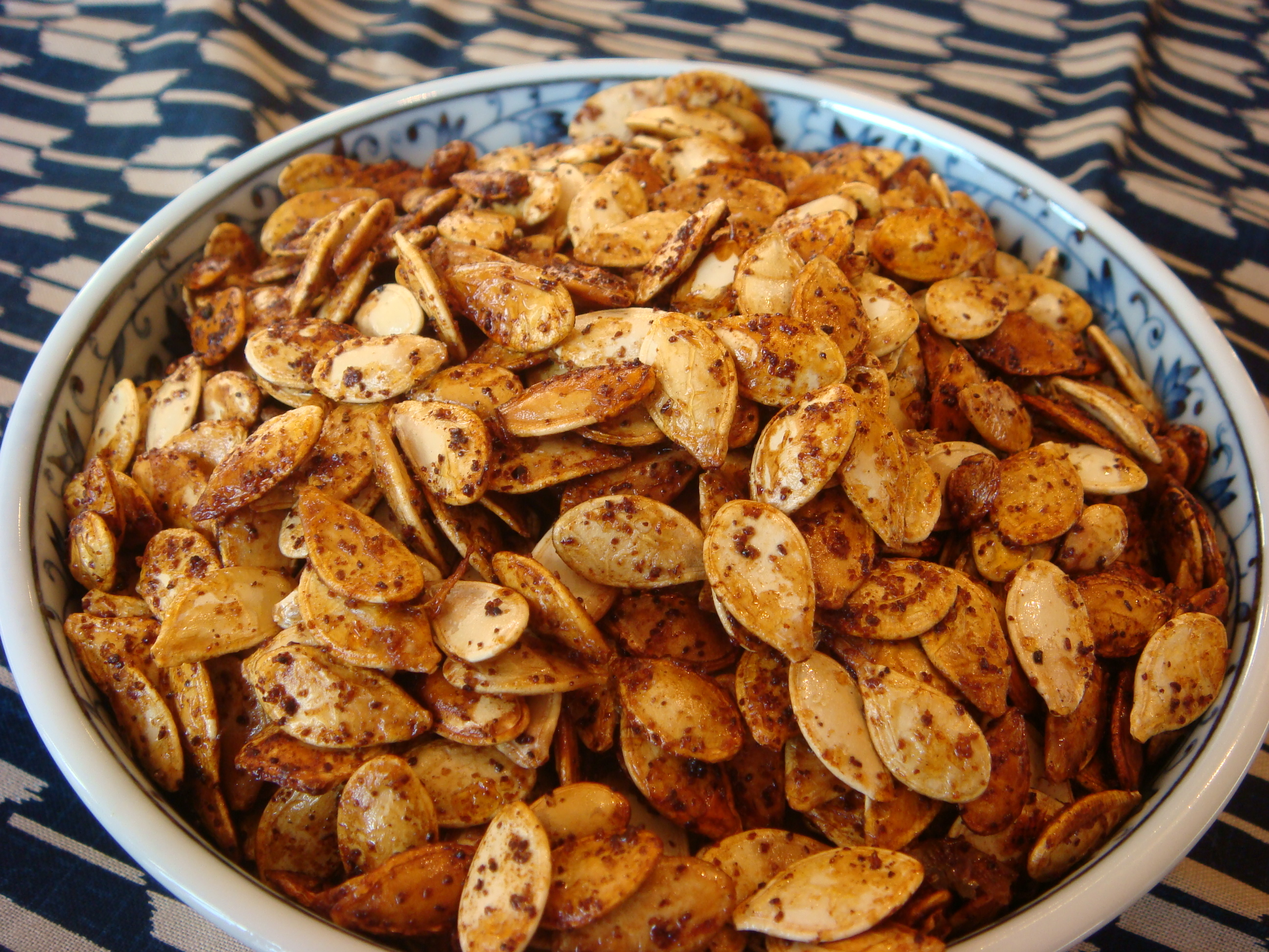 Roasted Pumpkin/Squash Seeds