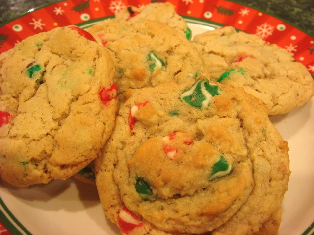 Chocolate Chip Cookies Adapted For The Holidays