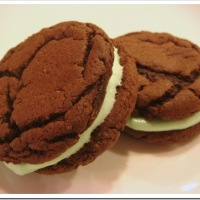 Twelve Days of Christmas Cookies: Mint Oreo Cookies