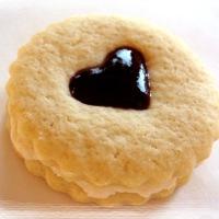 Twelve Days of Christmas Cookies: Raspberry Almond Linzer Cookies