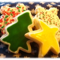 Twelve Days of Christmas Cookies: Sugar Cookies