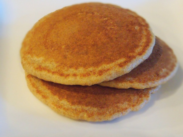 whole wheat pancakes | No Empty Chairs