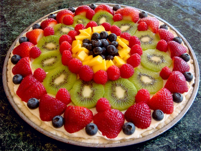 fruit pizza recipe healthy juicy fruit song