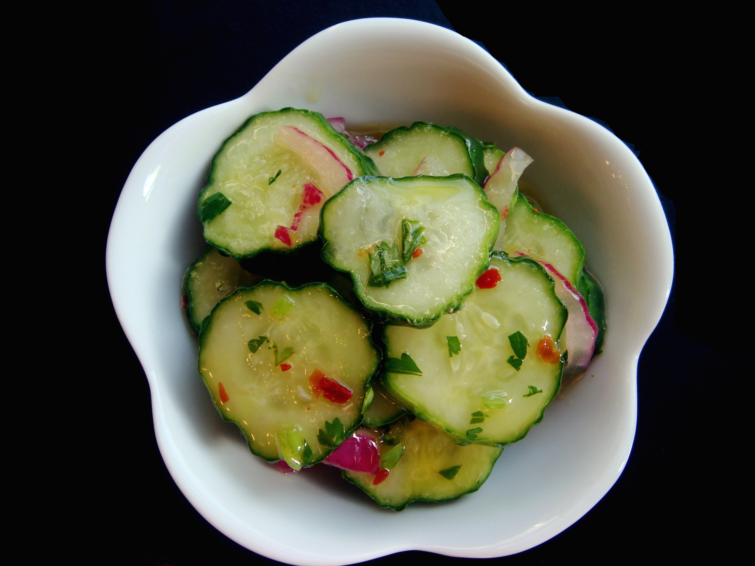 Thai Cucumber Salad Recipe | No Empty Chairs