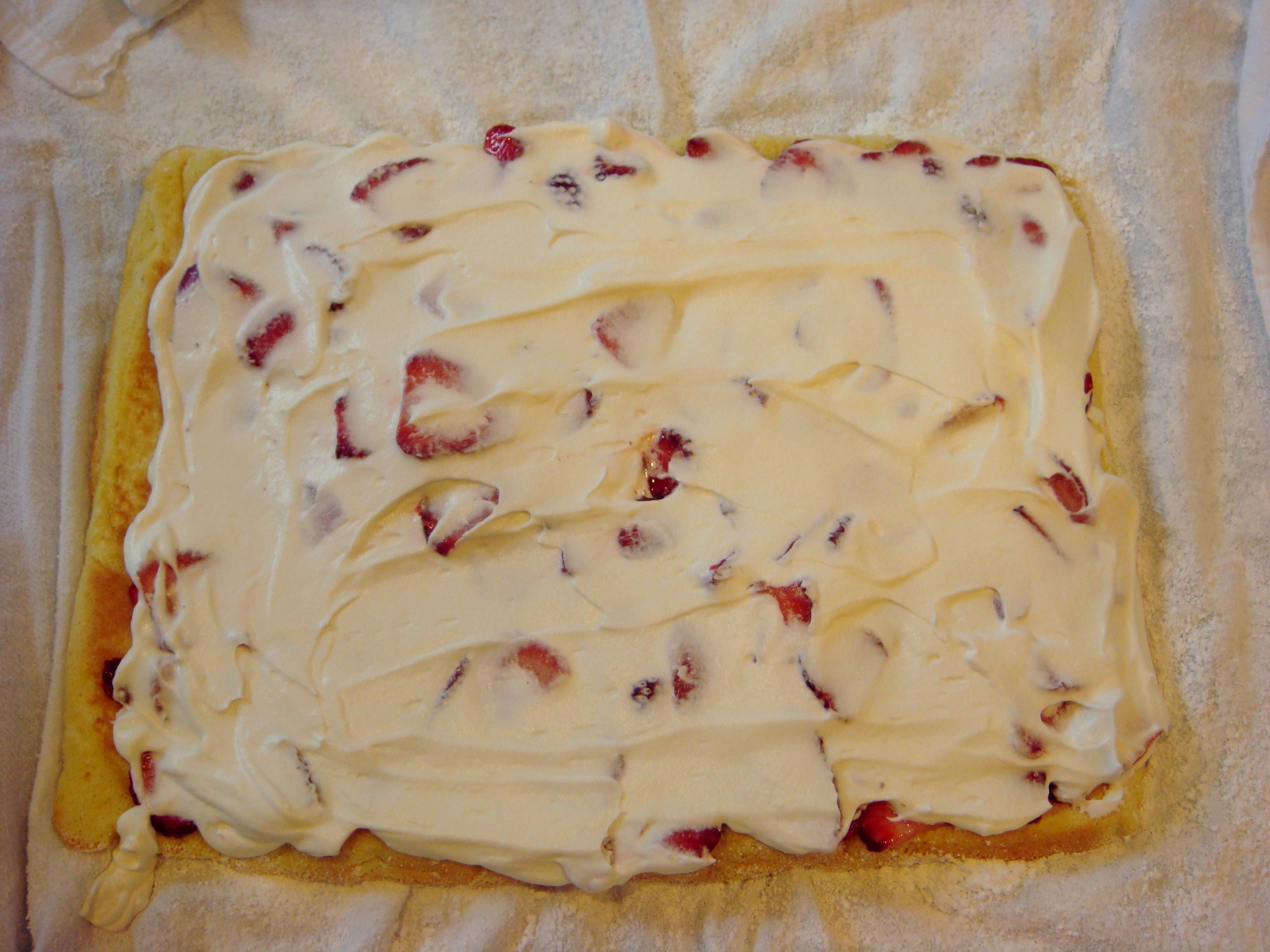 Рецепт начинка для бисквита рецепт с пошагово