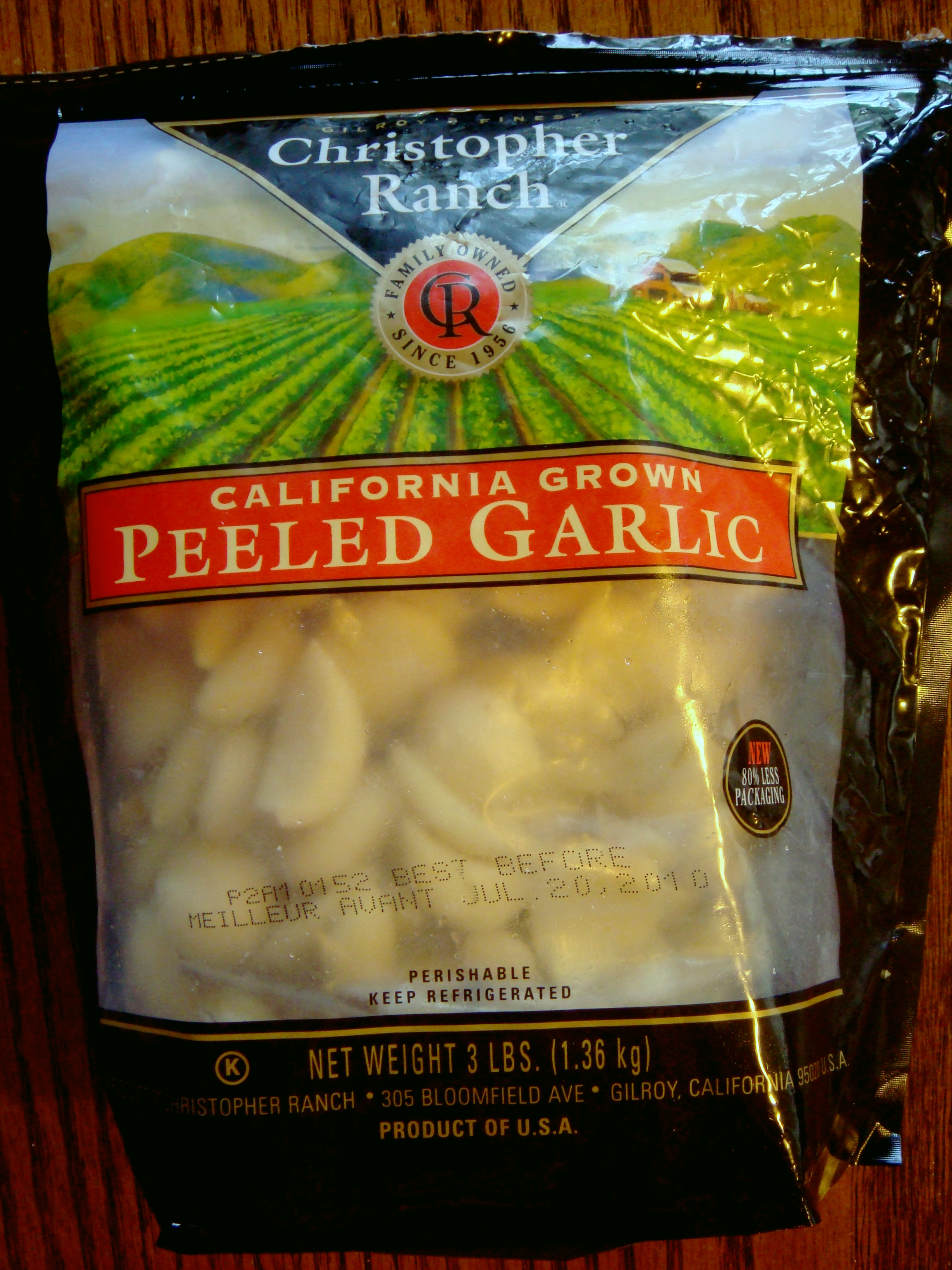 i definitely canu0027t use this much garlic before it goes bad and it really makes the reek of garlic unless you freeze the whole bag - Freezing Garlic