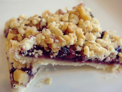 ... ) Days of Christmas Cookies: Raspberry Crumb Bars | No Empty Chairs