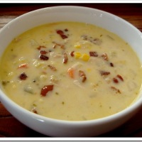 Southwest Turkey (or Chicken) Vegetable Chowder