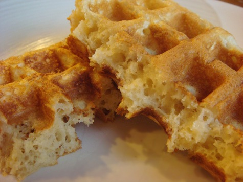 buttermilk waffle recipe. One-Bowl Buttermilk Waffles