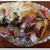 Strawberry Nutella Muffins