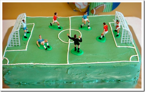Astounding Soccer Cake With Swiss Meringue Buttercream Icing No Empty Chairs Funny Birthday Cards Online Aboleapandamsfinfo