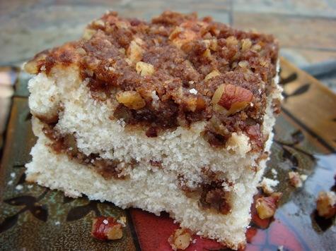 ... or Cinnamon) Swirled Buttermilk Coffee Cake Recipe | No Empty Chairs