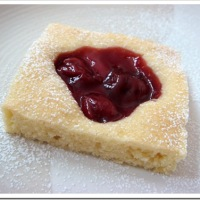 Twelve Days of Christmas Cookies: Cherry Shortbread Squares