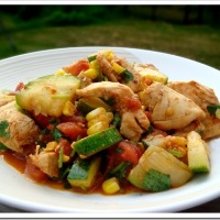 Dinner in under 30 minutes: Southwest Chicken and Zucchini Sauté
