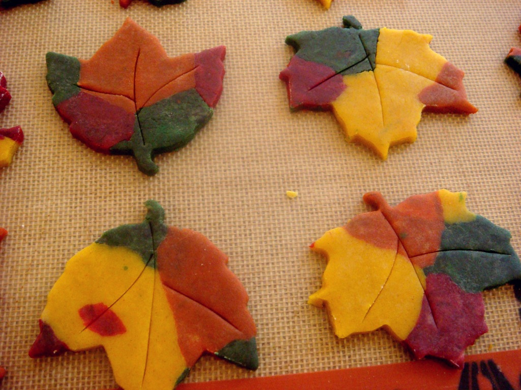 Autumn Spiced Fall Leaf Cookies No Empty Chairs