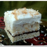 Thanksgiving Dessert: Coconut Cream Pie Bars