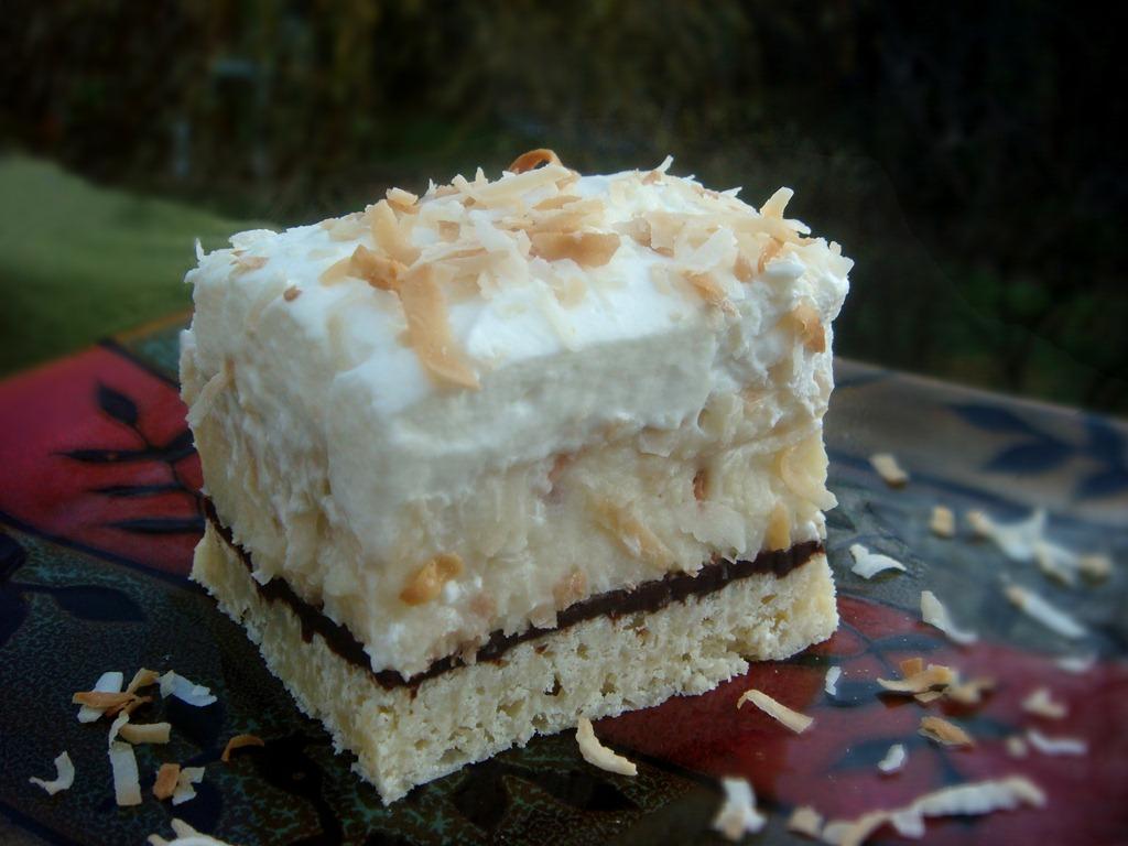 Thanksgiving Dessert: Coconut Cream Pie Bars | No Empty Chairs