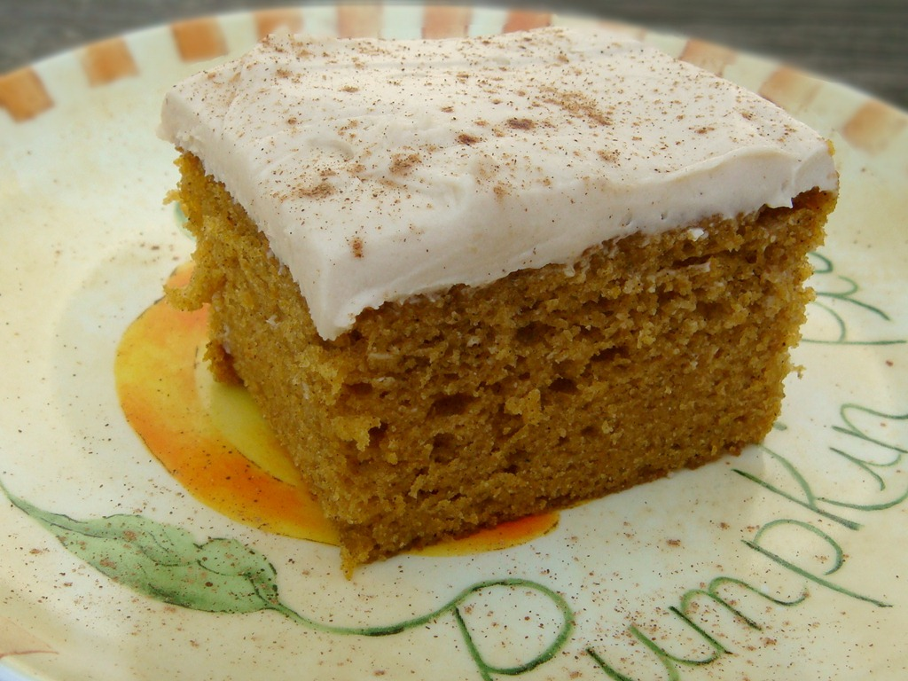 Pumpkin Sheet Cake Recipe Cream Cheese Frosting