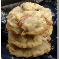 Twelve Days of Christmas Cookies: Almond Joy Cookies