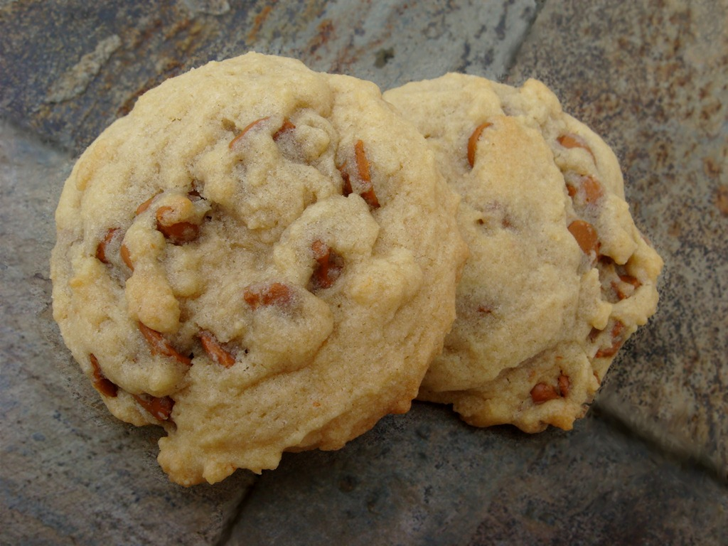 Twelve Days of Christmas Cookies: Butterscotch Cinnamon Chip Cookies