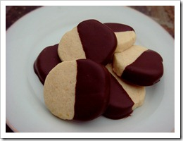 Chocolate Orange Cookies 3