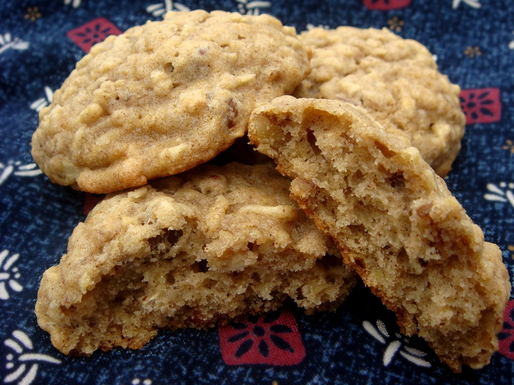 Twelve Days of Christmas Cookies: Oatmeal Apple Cookies | No Empty ...