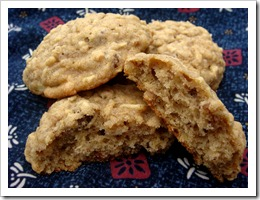 Oatmeal Apple Cookies 1