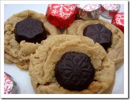 PB Snowflake Cookies
