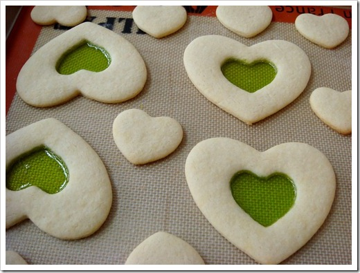 Stained Glass Valentine Cookies 2