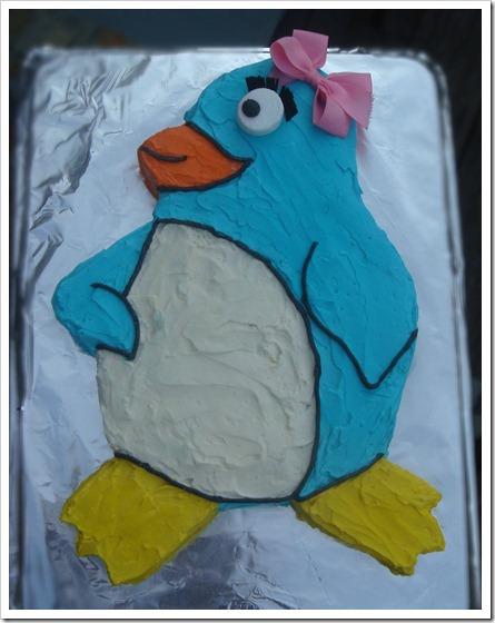 Penguin Cake 1