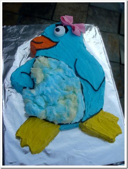Penguin Cake 3