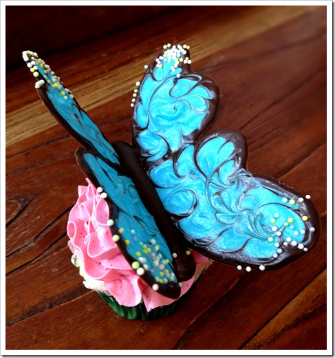Butterfly Cupcakes 001