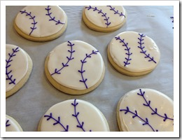 Softball Cookies 5