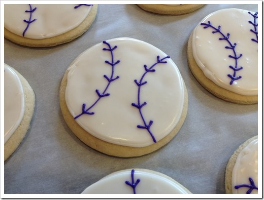 Softball Cookies 6