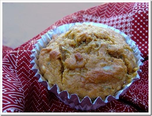 Pumpkin Zucchini Muffin