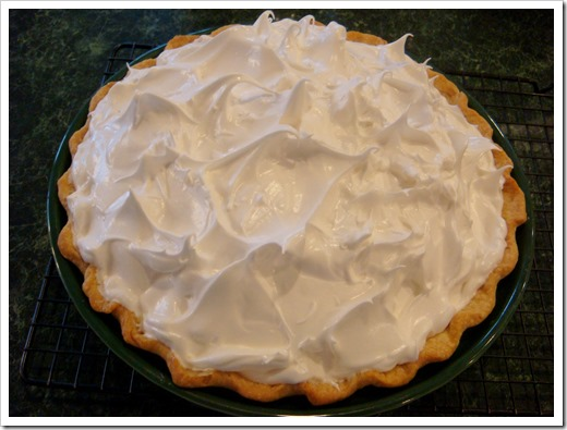 Lemon Meringue Pie 1