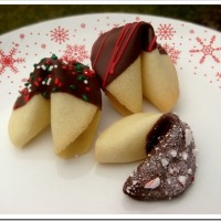 Twelve Days of Christmas Cookies: Christmas Fortune Cookies