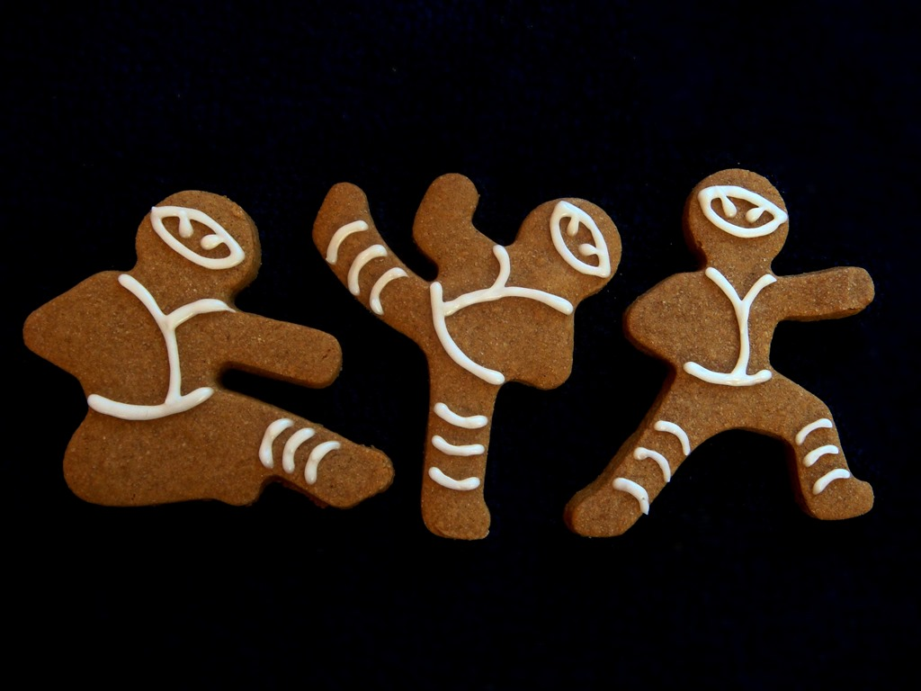 Twelve Days Of Christmas Cookies Ninja Bread Men No Empty Chairs