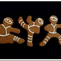 Twelve Days of Christmas Cookies: Ninja-bread Men