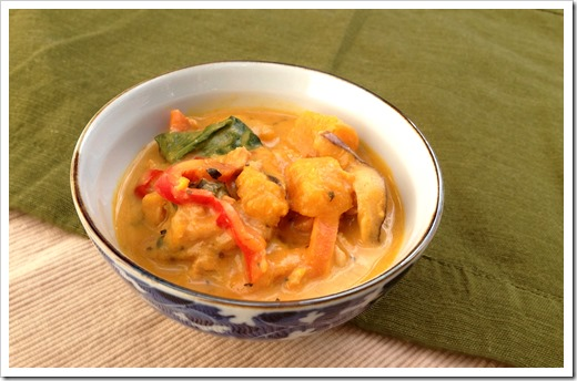Thai Pumpkin Curry 1