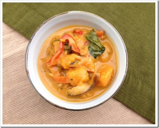 Thai Pumpkin Curry 2