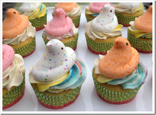 Peeps Cupcakes 1