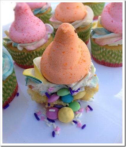 Peeps Cupcakes 2