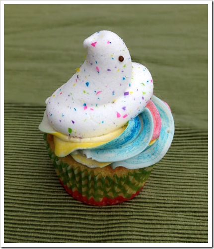 Peeps Cupcakes 4