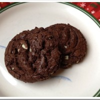 Twelve Days of Christmas Cookies: Chocolate Andes Cookies
