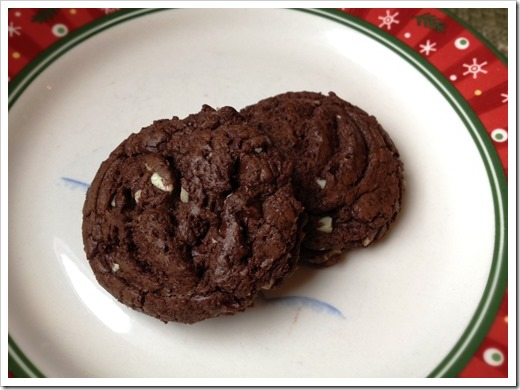 Chocolate Andes Cookies