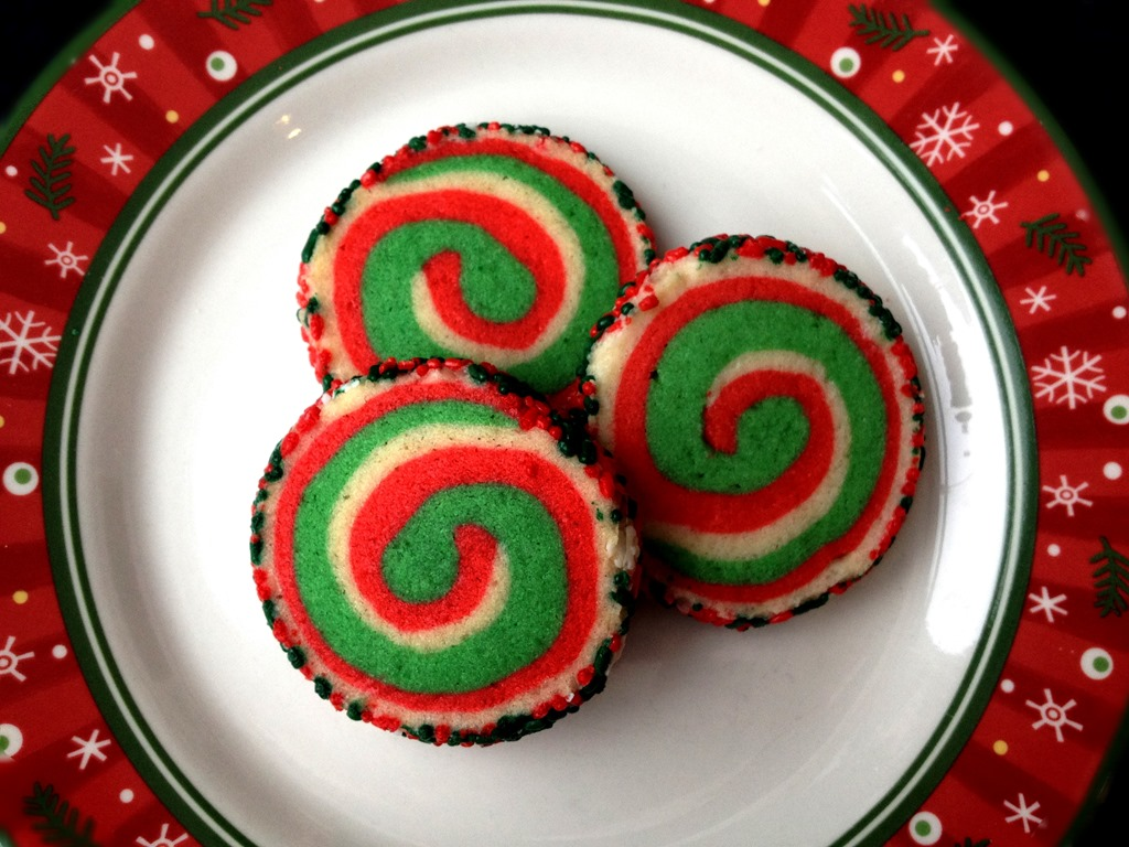Twelve Days Of Christmas Cookies Pinwheel Cookies No Empty Chairs