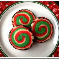 Twelve Days of Christmas Cookies: Pinwheel Cookies