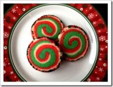 Christmas Pinwheel Cookies 1