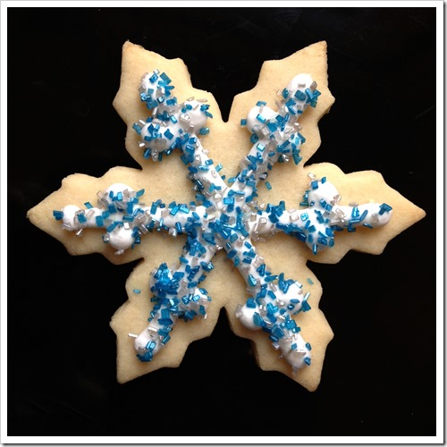 Frozen Snowflake Sugar Cookies 1